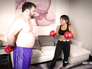beatdowns;femdom-pov;female-domination;boxing-gloves;female-boxing;kink;butt;asian-goddess;asian-dominatrix;face-sitting;face-sat;breath-play;humiliation;female-supremacy;femdom;belly-punching,Asian;Big Ass;Fetish LOST BET BEAT DOWN 2 feat ASTRODOMINA