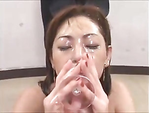 Asian;Cum Swallowing DRINKERS SEMEN Sarina Matsuoka
