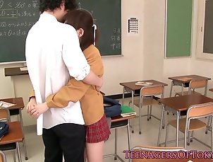 Blowjobs;Teens;Japanese;Erito;HD Videos;Japanese Classroom;Classroom;Sucking Cock;Sucking Japanese schoolgirl sucking cock in...