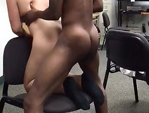 Amateur;Asian;Black and Ebony;Interracial;At Work;BBC asian and BBC at work