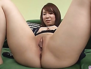 Asian;Blowjobs;Group Sex;Japanese;MILFs;HD Videos;Ferame Sakura Ooba stands nude and plays -...