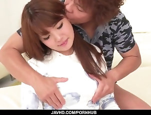 javhd;anime;asian;japanese;creamed;pussy;stand;fucking;fingering;vibrator;toy;insertion,Asian;Blowjob;Creampie;Japanese Shy Arisa Ando blows cock and fucks -...