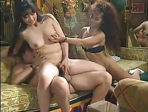 Anal;Asian;Vintage;Facials;Threesomes;Threesome Anisa, Misaki & TT Boy threesome