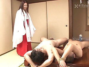 41 Ticket;BBW;Blowjobs;Japanese;Matures;Threesomes;HD Videos;Fucking Fucking Mature Priestess Ayano...