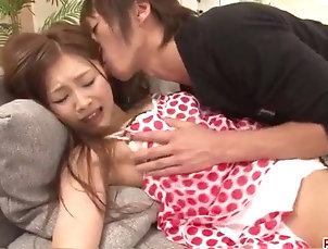 Asian;Fingering;Hardcore;Japanese;Squirting;Screams;Big Dick;Shio Fuky Suzuka Ishikawa screams with a big...