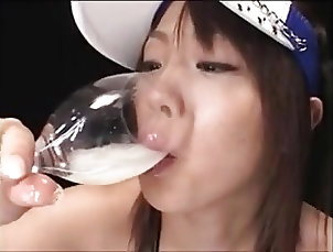 Asian;Cum Swallowing DRINKERS SEMEN Bunko Kazanawa
