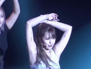 Asian;Babes;Celebrities;Korean;HD Videos HyunA red fancam