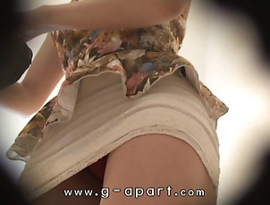 Hidden Cams;Japanese;Upskirts;Voyeur;Webcams;G Apart HiddenCam Japanese Beauty Mako Higashio