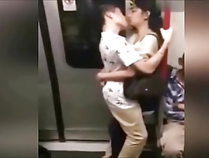 Japanese;HD Videos;Obscene Shame! People in Chinese Metro do...