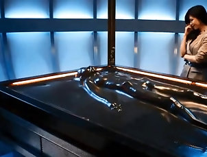 Asian;Bondage;Latex;Small Tits;Softcore;House;Slaves The House of the slaves - Vacuumbed