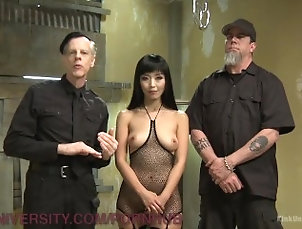 bdsm;instructional;educational;bondage;blowjob;sex;in;bondage;kink;rope;suspension;kinkuniversity;small-tits;natural-boobs;asian;brunette,Asian;Bondage;Pornstar;Teen;Threesome,marika hase Suspension Bondage For Sex
