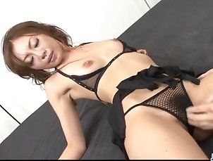 Asian;Blowjobs;Cumshots;Fingering;Japanese;Craves;Swallow Cock;Jav HD Mio Hiragi blows cock with passion...