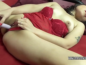 Amateur;Asian;Japanese;MILFs;Sex Toys;HD Videos;Red Lingerie;Asian Lingerie;Asian Masturbating;Masturbating;Chick Pass Asian hottie Yuka Ozaki is...