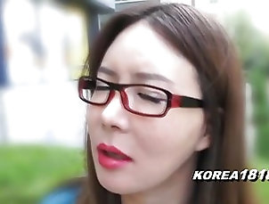 Amateur;Asian;Japanese;Korean;Chinese;Korea 1818;HD Videos;Glasses KOREA1818.COM - Korean Lady in...