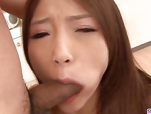 Asian;Blowjobs;Cumshots;Group Sex;Japanese;Ferame;HD Videos;Young Throats;Young Dick;Covered;Throats;Young Young Aoi Yuuki throats dick until...