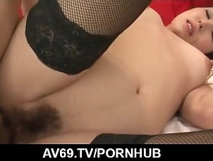 av69;kissing;sexy-lingerie;black;stockings;hairy-pussy;pussy-licking;fingering;cock-sucking;69;dick-riding;hardcore;action;rear;fuck;creamed;pussy;pussy-creampies;uniform,Asian;Blowjob;Creampie;Japanese Nothing like a strong dick for Rino...