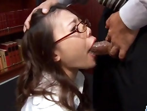 Asian;Blowjobs;Cumshots;Facials;Japanese;Jav HD;Naughty at Work;At Work;Naughty Blowjob at work along naughty...