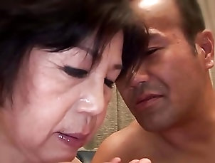 Asian;Old+Young;Grannies;Chinese;HD Videos Aiko Hanada 72y