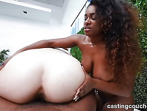 Blowjob;Interracial;Facesitting;HD Videos;Doggy Style;69;Eating Pussy;Cowgirl;African Ebony Girl and Asian Girl Both Super...