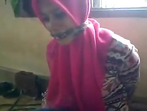 Amateur;Asian;Hijab;Indonesian BDSM BTS Hijab 1
