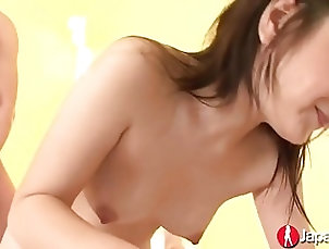 Teens;Japanese;Squirting;Creampie;Threesomes;Japan Hd Channel;Surprise Japanese Teen Gets A Surprise