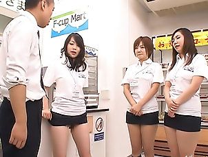 New Movies,Asian,Brunette,Wierd Japan,asian,brunette,hairy,fingering,japanese,natural tits These three Asian girls run the shop...