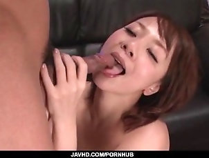 javhd;nice-ass;pink-pussy;pussy-licking;fingering;cock-sucking;hardcore;action;dick-riding;stand;fucking;rear;fuck;creamed;pussy,Asian;Blowjob;Creampie;Japanese Arisa Araki endures cock in each of...