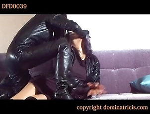 bdsm;leather;bondage,Bondage;Lesbian;Japanese Leather Dom 02