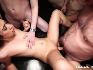 Blowjob;Amateur;Asian;Group;Gangbang;Creampie;HD,Amateur;Asian;Blowjob;Cream Pie;Gangbang;HD;Oral Sex;Small Tits Small chested Asian gets gangbanged