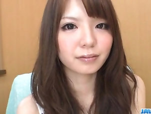 Asian;Japanese;Sex Toys;Jav HD;Solo;Shaved Aya Eikura plays with her shaved...