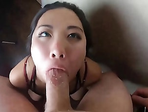 Asian;Blowjobs;Interracial;POV;HD Videos;Deep Throats;Different;Point of View Oriental-throatie - At two different...