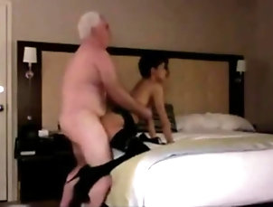 Amateur;Asian;Old+Young;Bedroom;Old;Young Old Young Bedroom
