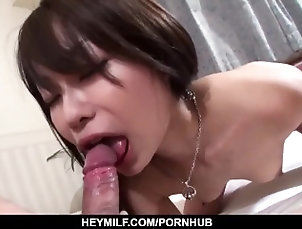heymilf;asian;japanese;hot;milf;hairy;pussy;kissing;pussy;stimulation;pussy;licking;sex;toys;vibrator;fingering;cock;sucking;body;licking;foot;licking;dick;riding;doggy;style,Asian;Blowjob;Hardcore;Japanese Yuri Aine likes holding the dick in...